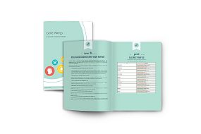 Booklet with genetic information